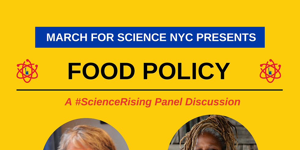 Vote for Science: Panels-Information Nights- Registration Drives. FOOD POLICY