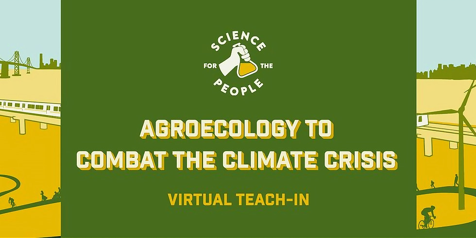 Agroecology to Combat the Climate Crisis,