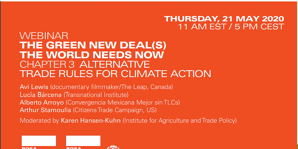 Chapter 3: Alternative trade rules for climate action