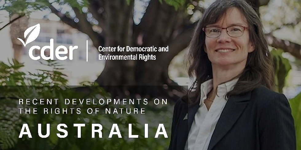 Recent Developments on the Rights of Nature - Australia