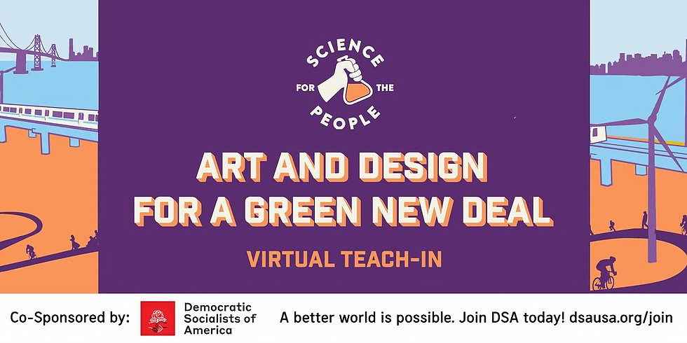 Art and Design for a Green New Deal