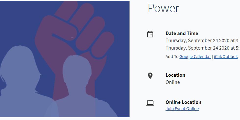 Emerging Leaders Workshops - Power