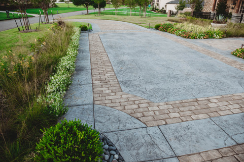 Custom Patios & Pavers by Red Valley Landscape & Construction in Norman, Ok