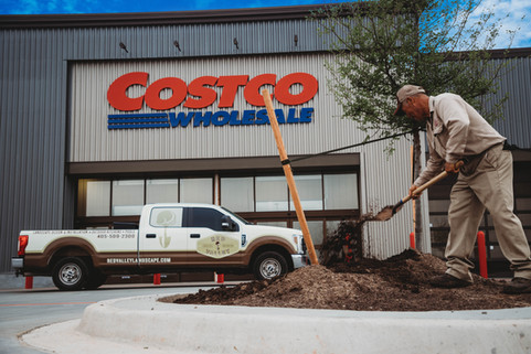 Commercial Landscape by Red Valley Landscape & Construction located in Austin, Texas