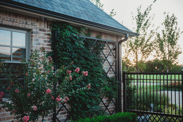Custom Fences & Trellis by Red Valley Landscape & Construction in OKC