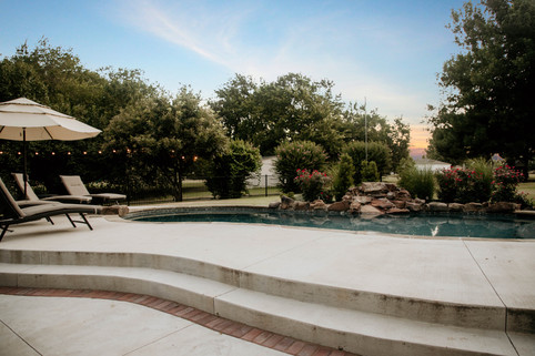 Custom Patios & Pavers by Red Valley Landscape & Construction in Arcadia, Ok