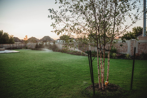 Irrigation & Drainage by Red Valley Landscape & Construction in Oklahoma
