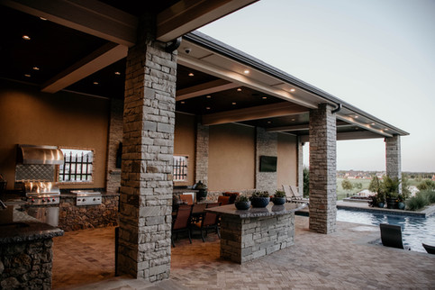 Custom Arbors & Pavilions by Red Valley Landscape & Construction in Oklahoma