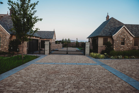 Custom Patios & Pavers by Red Valley Landscape & Construction in Edmond