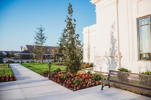 Commercial Landscape Design & Installation by Red Valley Landscape & Construction in Mustang, Ok