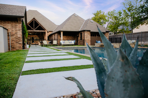Custom Patios & Pavers by Red Valley Landscape & Construction in Georgetown, Texas