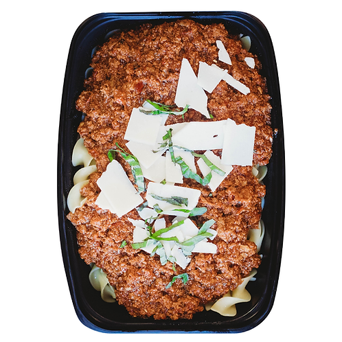 Turkey Bolognese With Egg Noodles