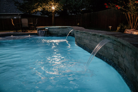 Custom Pools & Spas by Red Valley Landscape & Construction in Moore, Ok