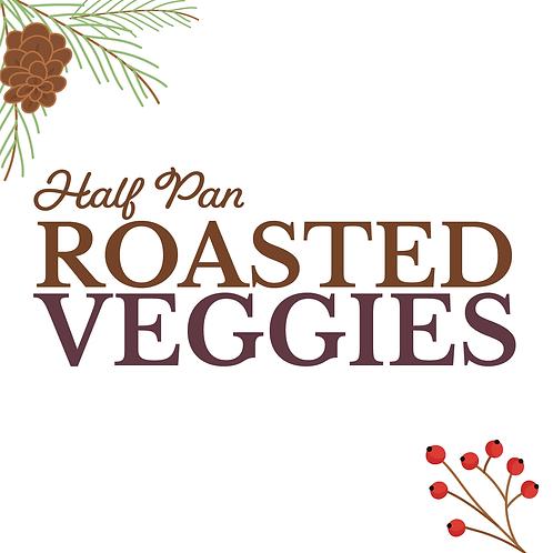 Half Pan Roasted Vegetable Medley