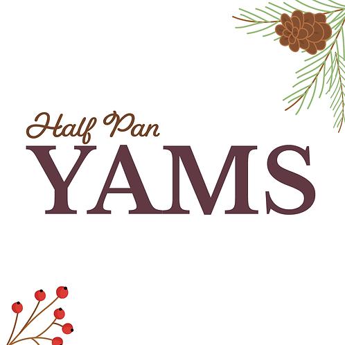 Half Pan Candied Yams