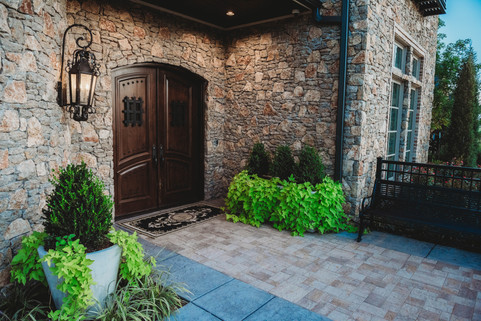 Custom Patios & Pavers by Red Valley Landscape & Construction in Bethany, Ok