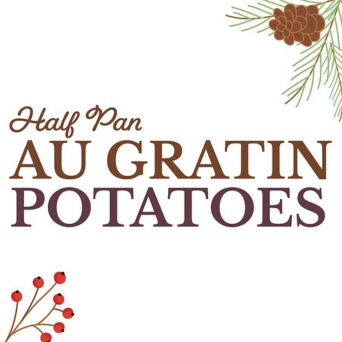 Half Pan Au Gratin Potatoes