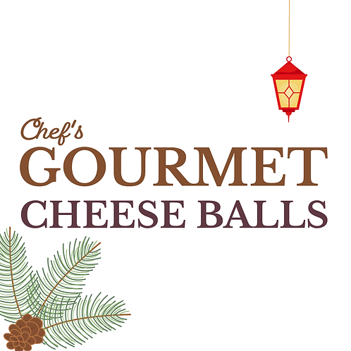 Chef's Gourmet Cheese Balls