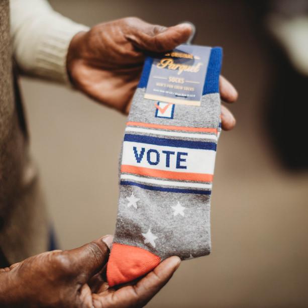 • NEW Vote Socks