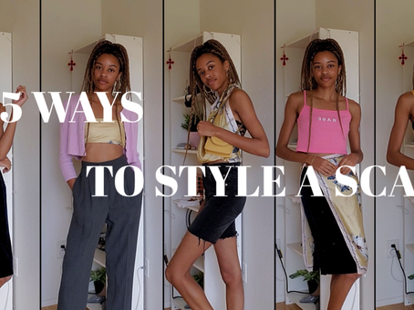 5 Ways to Style a Scarf - Fashion Guide