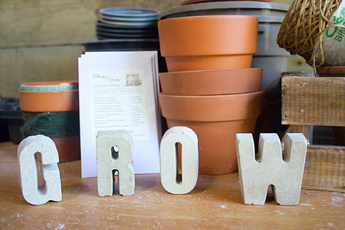 Grow Letter Box
