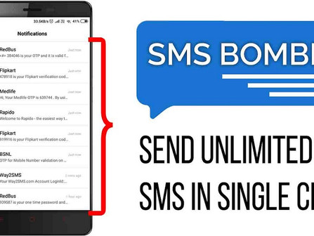 The best SMS bombing tool 101% working-2021  (How to use it?)