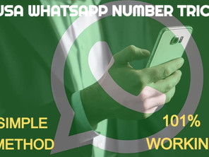 USA Whatsapp number 101% working and simple method