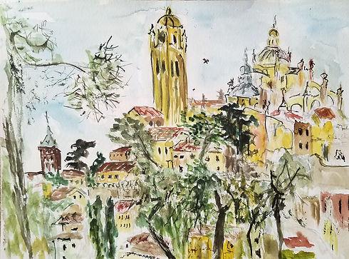 Segovia watercolor original.jpg