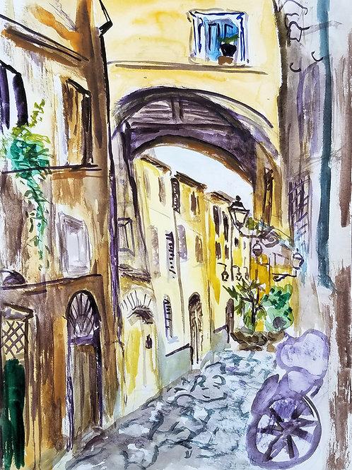 Rome Campo Street
