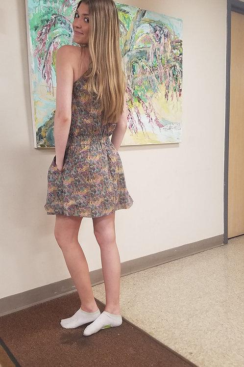 Mini Dress in Proprietary Print