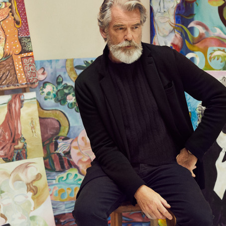 5 Male Celebrities Explain why they Turn to Painting in their Later Years