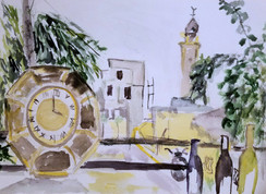 Jaffa watercoloror