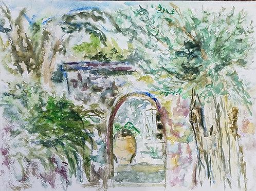 Greek Entrance