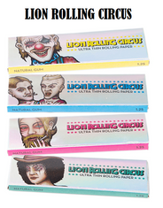 Lion Rolling Circus Papel Silver 11/4