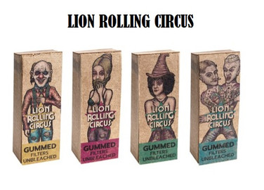 Filters Unbleached Mini Lion Rolling Circus