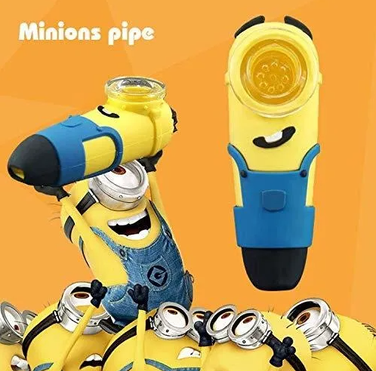 Pipa Minions - Vidrio