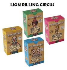 Boquillas o Filtro Pre Enroladas Lion Rolling Circus