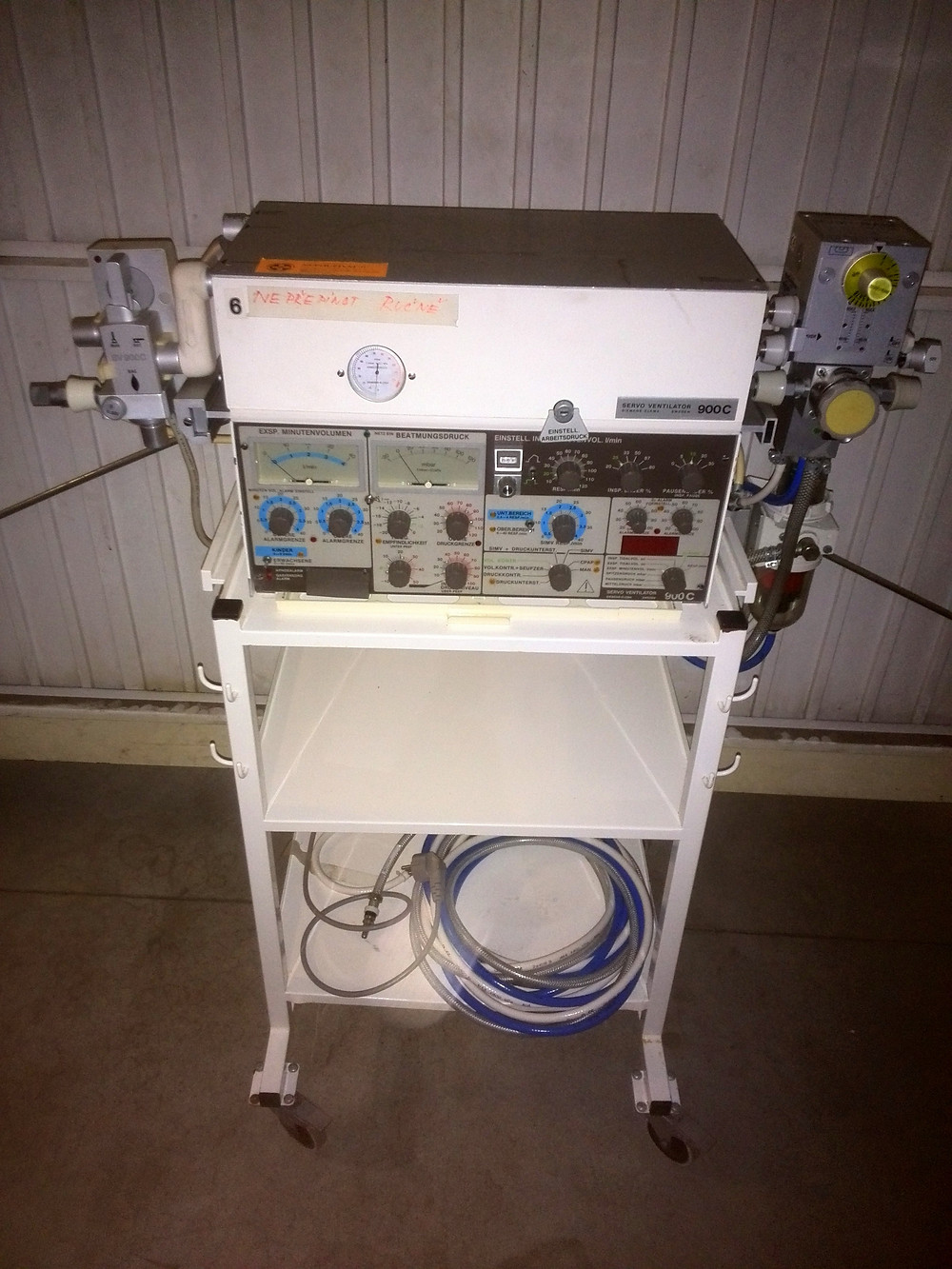 Servo Ventilator | Siemens | Elema 900 C