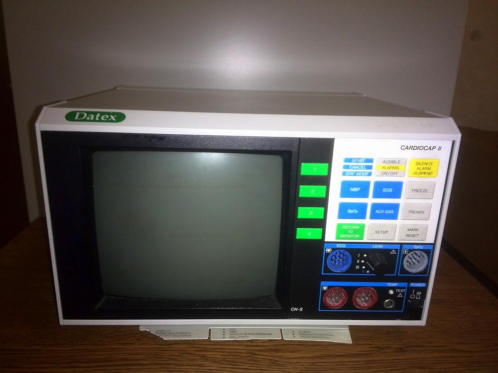 Patient Monitor | DATEX | Cardiocap 2