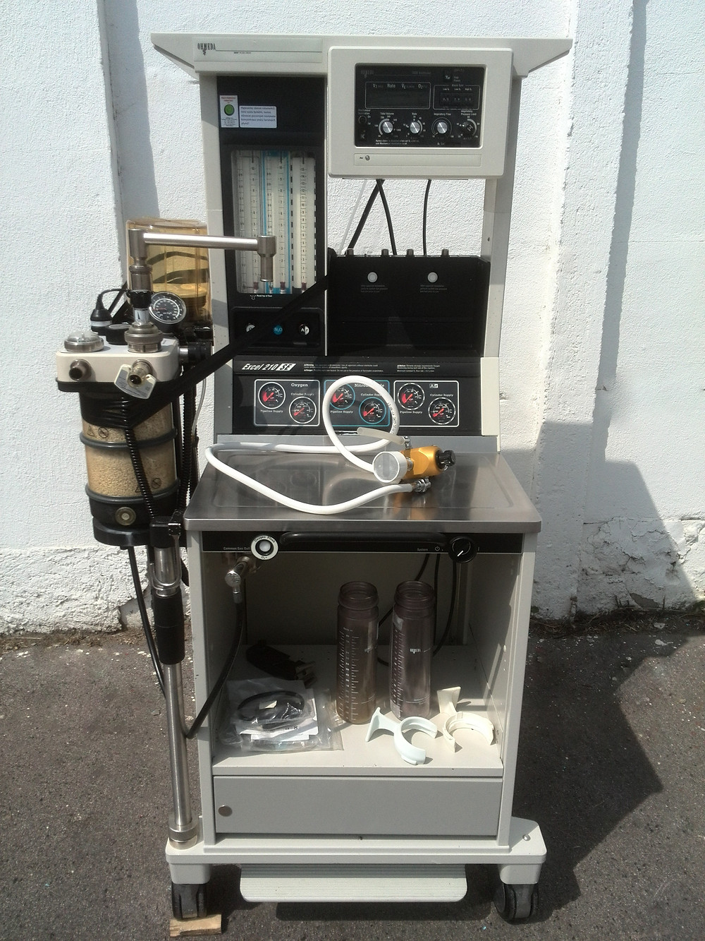 Anesthesia Machine | Ohmeda | Excel 210 SE