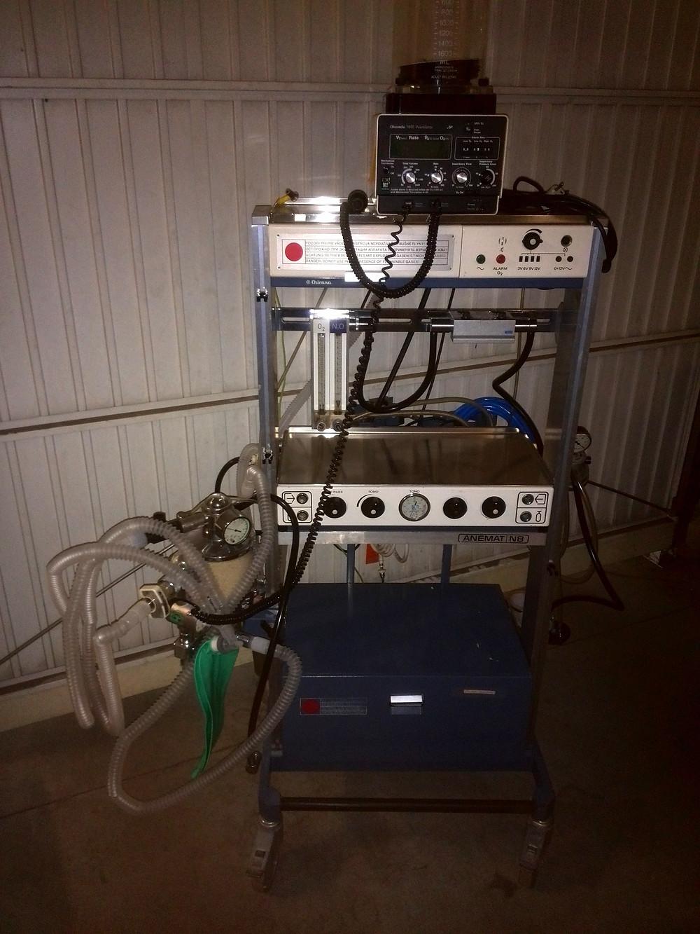 Anesthesia Machine | Chirana | Anemat N8