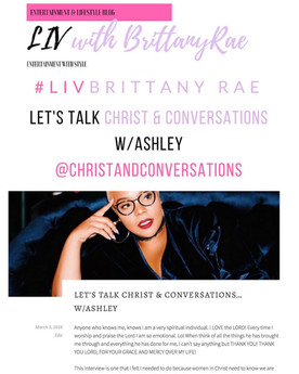 Interview w/ Ashley