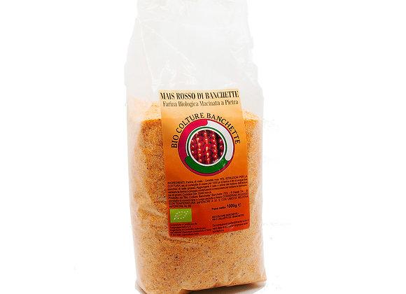 Farina di Mais Pignoletto Rosso Biologica