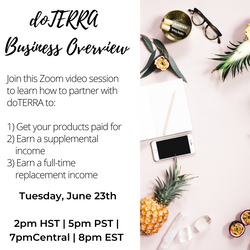 doTERRA Business Overview