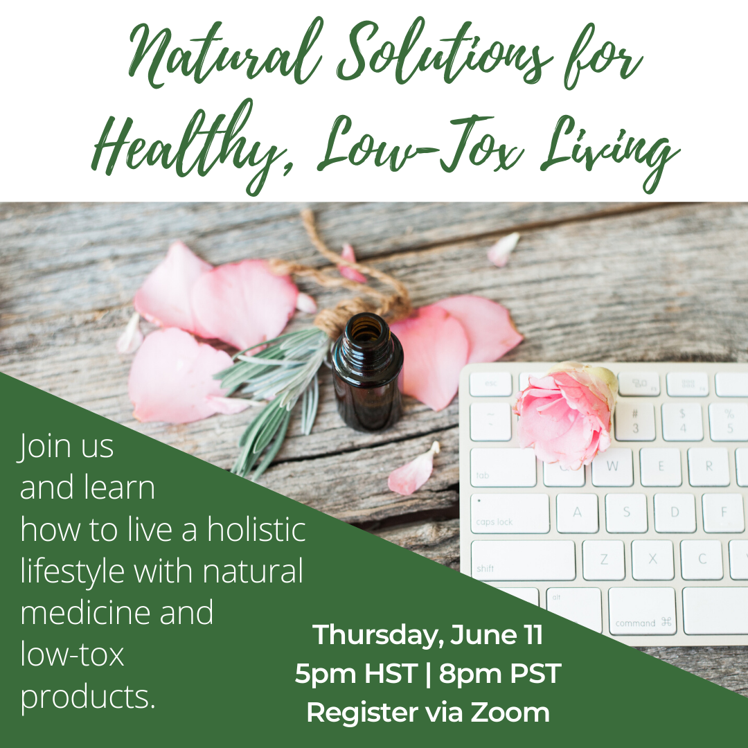 Natural Solutions for Healthy, Low-Tox Living