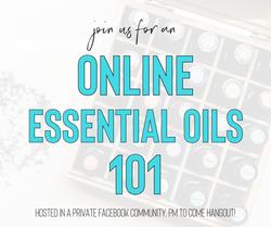 Online Essential Oils 101 Class