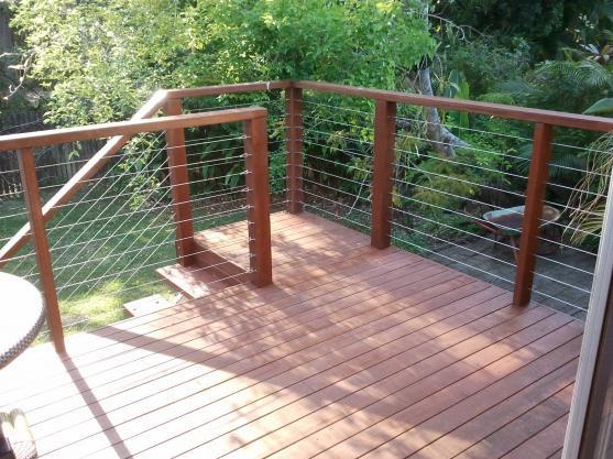 Open Railing Deck