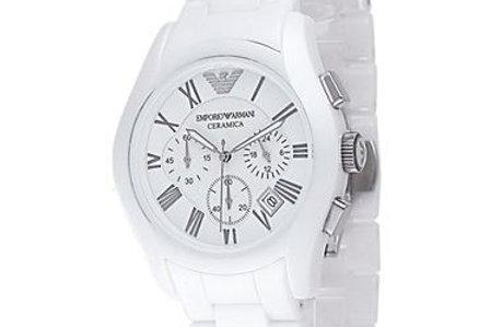 c5ff3640 Emporio Armani AR1403 White Ceramic Watch