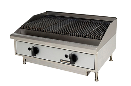 Star Toastmaster Radiant & Lava Rock Gas Charbroilers