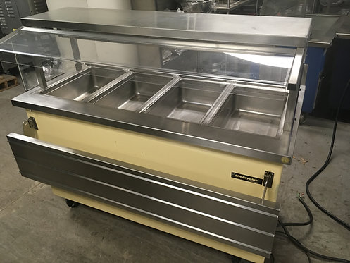 Delfield Buffet Table w/ Four Heated Wells